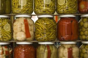 Jars of pickles, Turkey photo
