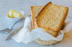 Sesame bread photo
