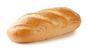 hogaza de pan blanco foto