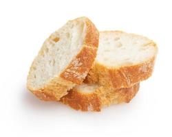 french baguette slices photo