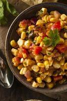Homemade Spicy Corn Salsa