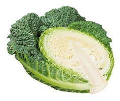 half cut savoy cabbage