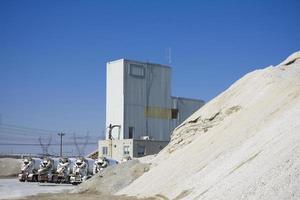 Cement production plant photo