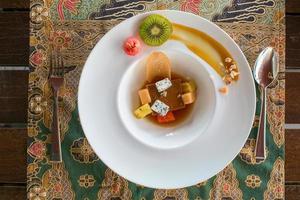 luxury dessert