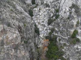 View from Palm Springs Aerial Tramway in California photo