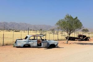 schrottautos en namibia