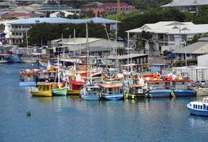 Marina in Port Victoria