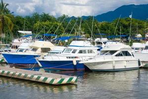 Yachthafen in Puerto Vallarta, Mexiko