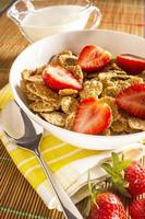 muesli with fresh Fruits photo