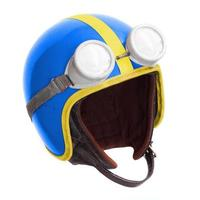 casco de motocicleta.