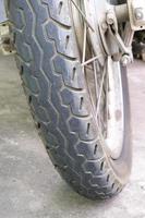 rueda de moto foto