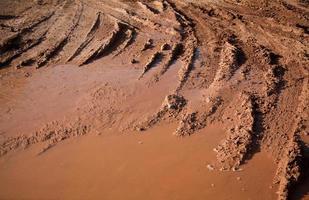 Mud bike tracks texture