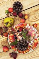 frutas de otoño foto