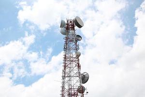 Telecommunications mast photo