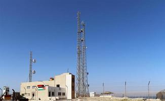 Telecommunication antenna and equipment photo