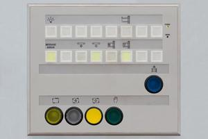 panel de control del operador