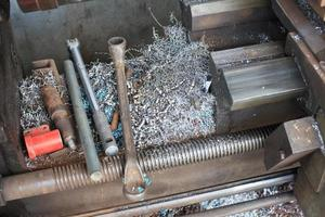 Metal drill photo