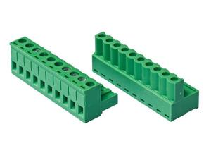 Connector for plc