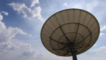 Satelite Dish for Telecommunications