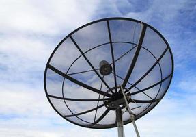 Satellite dish for telecommunication