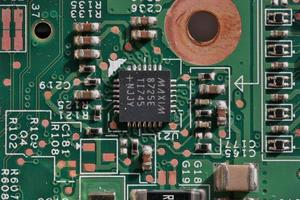 computer circuits photo