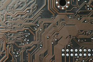 circuitry for background or design closeup . photo