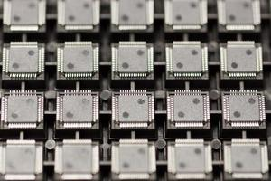 SMD integrated circuits photo
