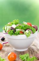 salada fresca.