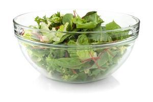 salada verde saudável