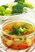 Vegetable soup photo