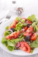 ensalada de vegetales foto