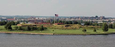 Fort Mchenry, Baltimore, Maryland foto