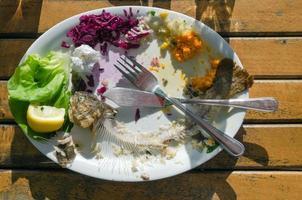 restos de comida
