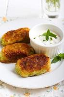 Zucchini crocketts