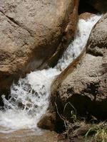 Waterfall in the desert