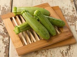 raw zucchini photo