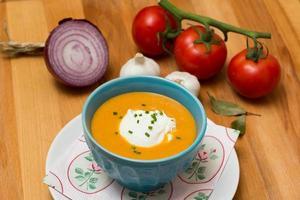 Fresh Soup - Stock Image photo