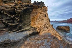 Roca volcanica foto
