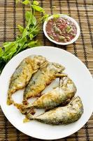 Shrimp Paste Chilli Sauce (Nam Prik Ka Pi) serve photo
