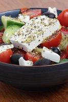 Greek salad. photo