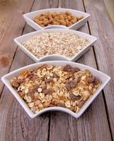 Muesli, Oat Flakes and Bran photo