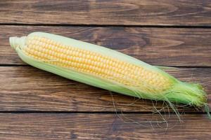 maíz en la mazorca
