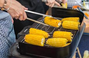 Grilled corn photo