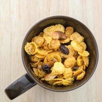 Mix corn flakes cereal snack menu