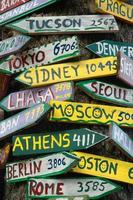 Signpost to the World photo