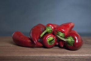 jalapeños rojos