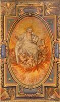 Rome  - fresco the God of Eternity photo