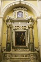 Fresco in the lateral nave, Ugento, Lecce photo
