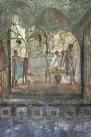 Pompeii fresco, Naples (Italy)