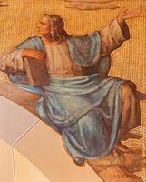 Vienna - The fresco of prophet Daniel
